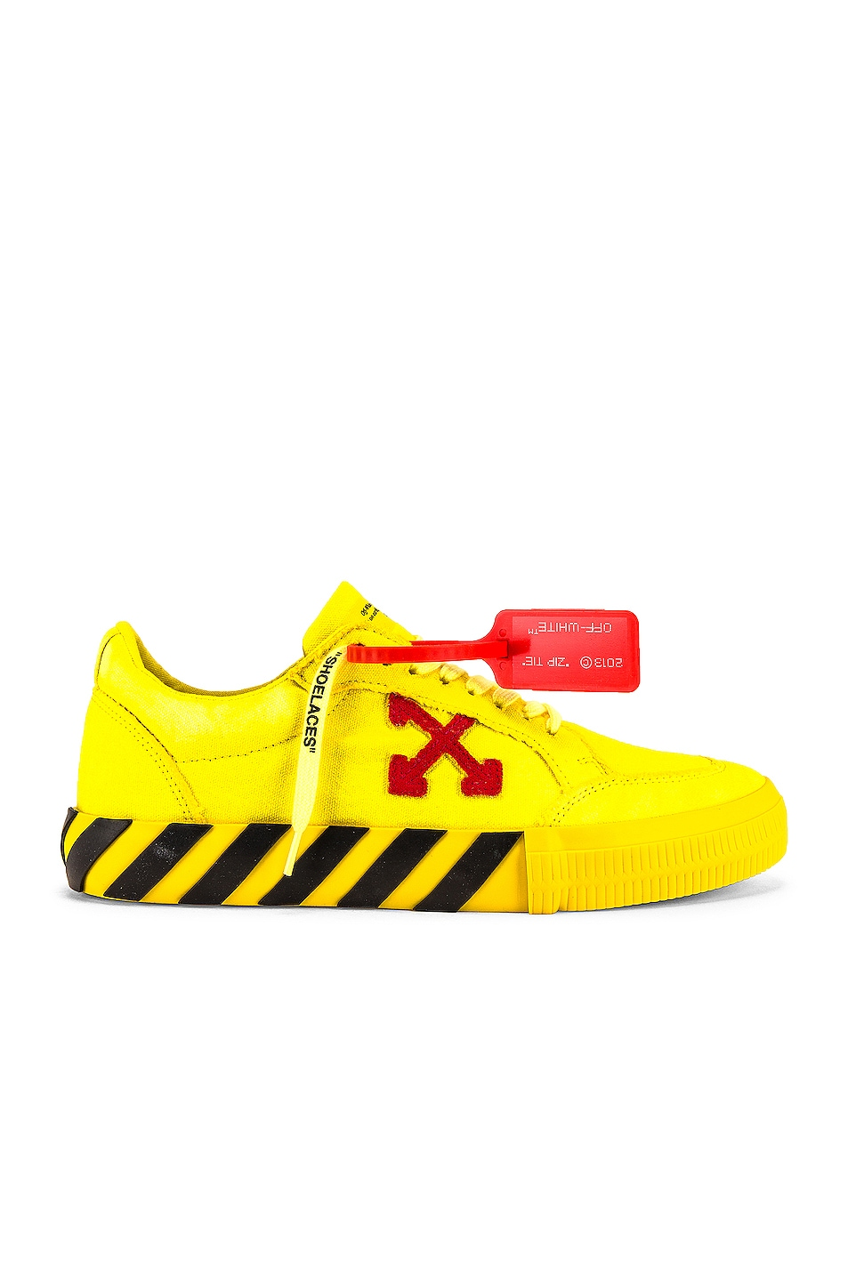 Image 2 of OFF-WHITE Low Vulcanized in Yellow & Red
