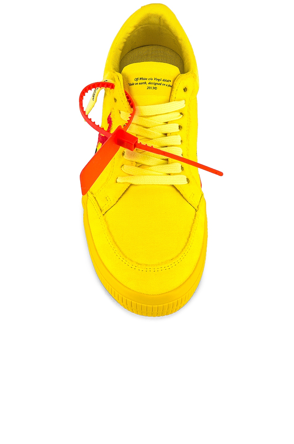 Image 4 of OFF-WHITE Low Vulcanized in Yellow & Red