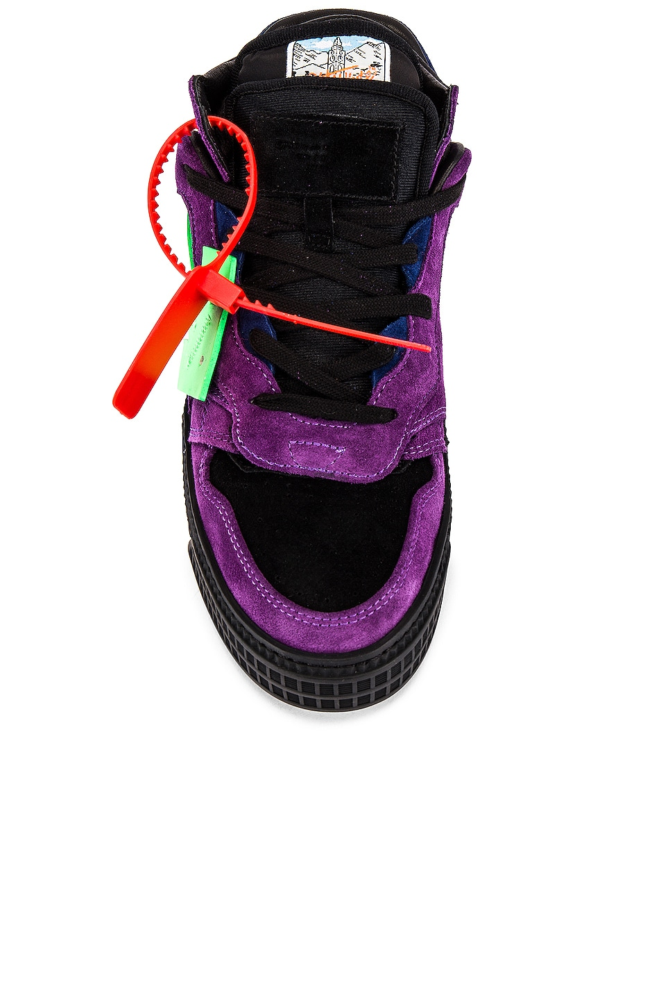 Image 4 of OFF-WHITE Off Court Low in Violet & Green
