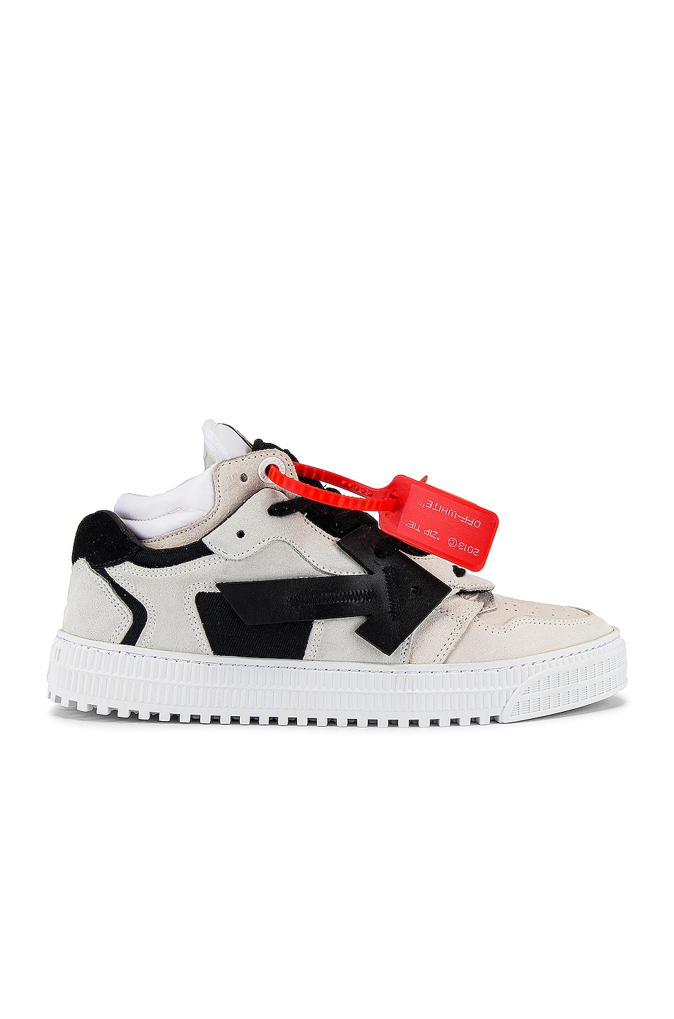 Image 2 of OFF-WHITE Off Court Low in Beige & Black