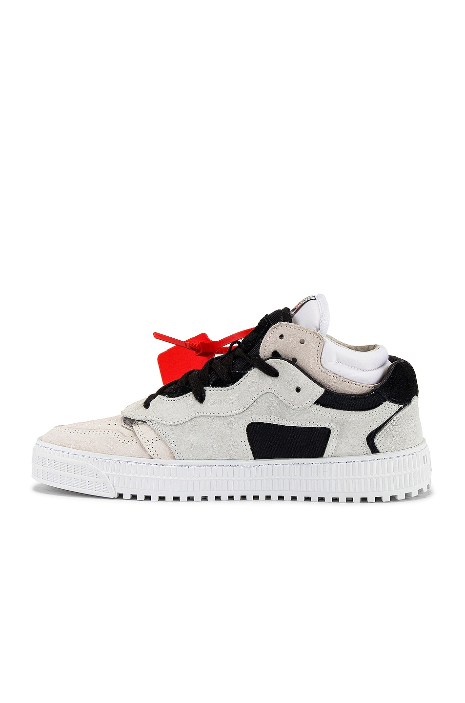 Image 5 of OFF-WHITE Off Court Low in Beige & Black