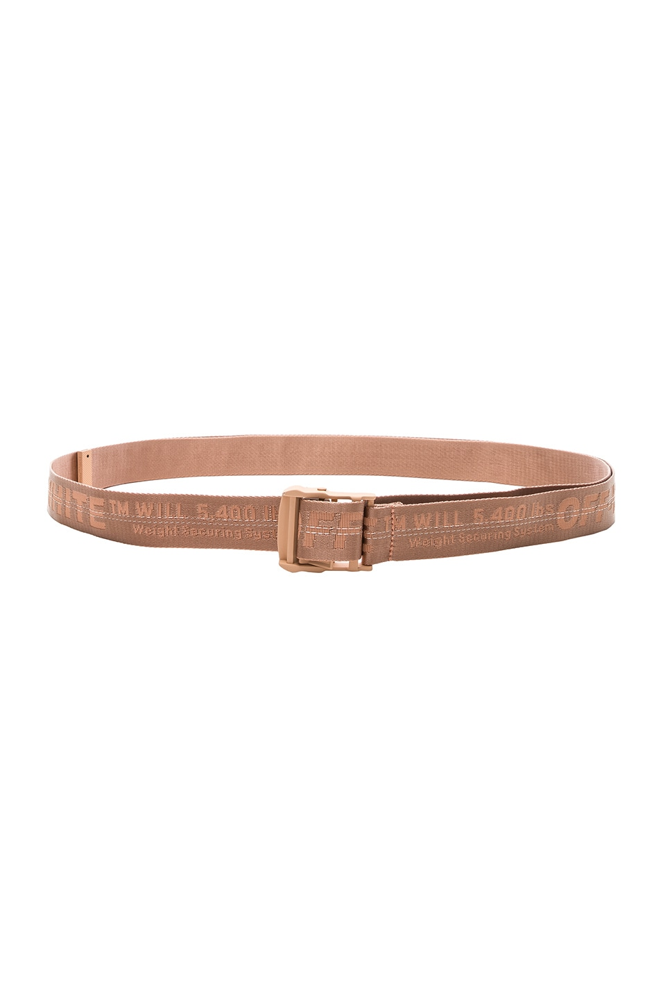 Image 1 of OFF-WHITE Classic Industrial Belt in Salmon