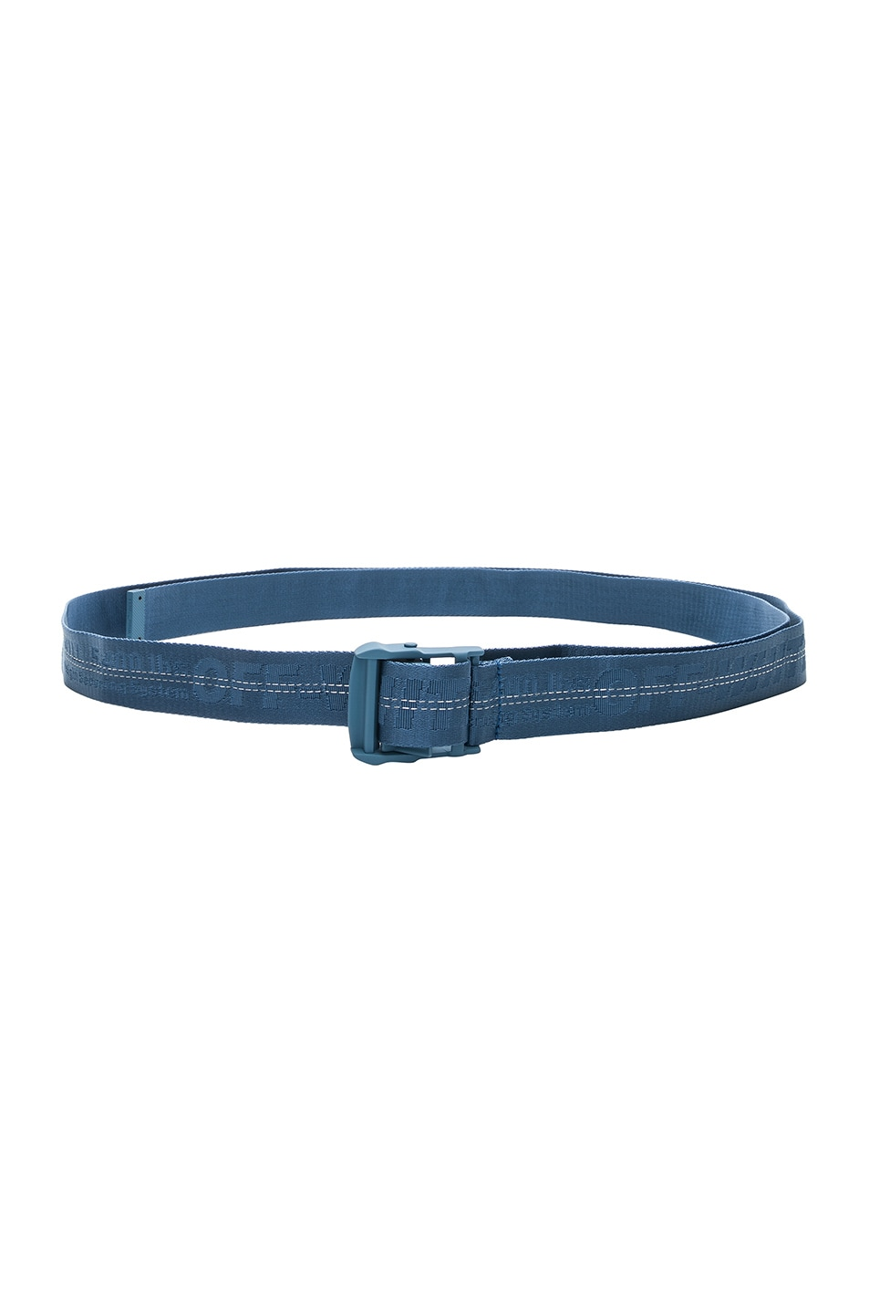 Image 1 of OFF-WHITE Classic Industrial Belt in Light Blue