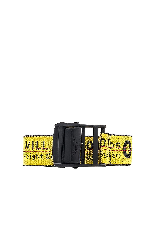 35Mm Nylon Industrial Belt, Yellow