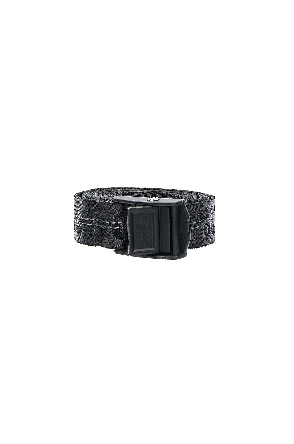 Image 1 of OFF-WHITE Mini Industrial Belt in Black & Black
