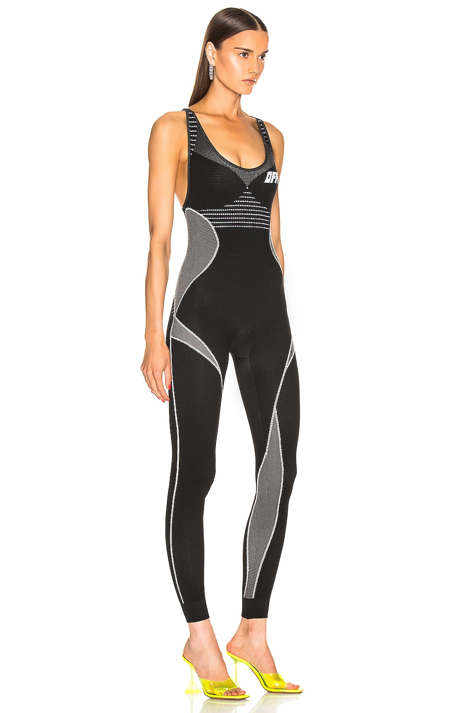 Image 3 of OFF-WHITE Athletic Jumpsuit in Black & White