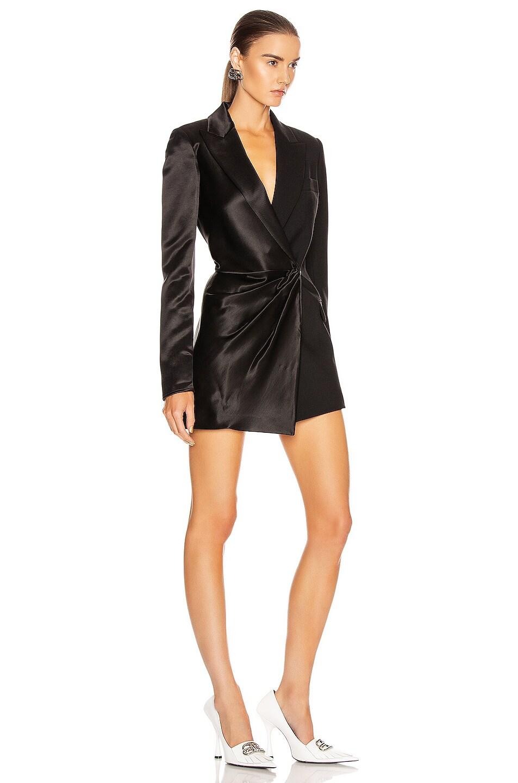 Image 2 of OFF-WHITE Formal Collage Jacket Dress in Black