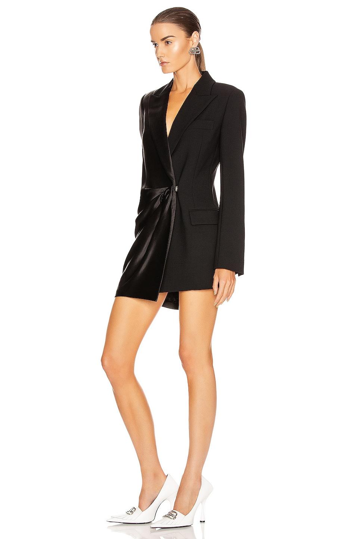 Image 3 of OFF-WHITE Formal Collage Jacket Dress in Black