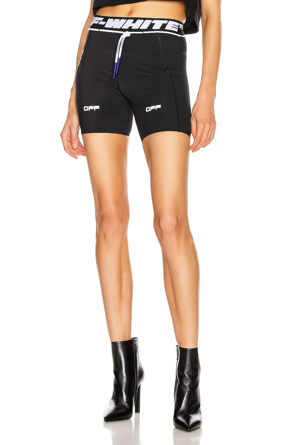 Image 1 of OFF-WHITE Active Short in Black & White