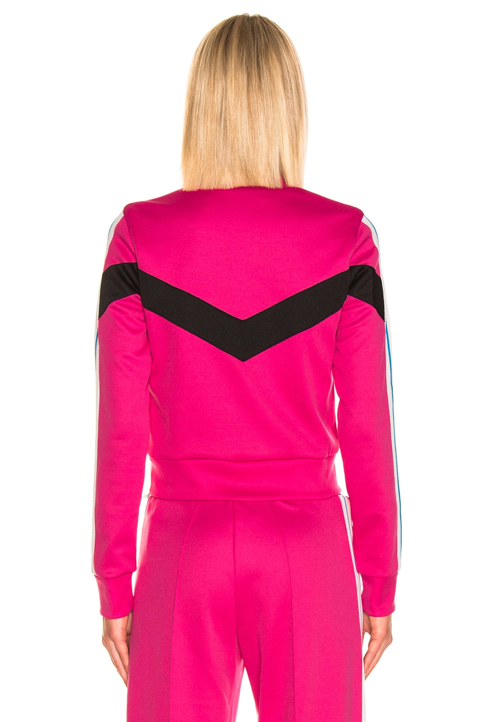 Image 5 of OFF-WHITE Gym Track Jacket in Fuchsia