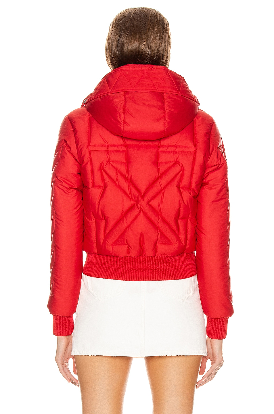 Image 4 of OFF-WHITE Down Jacket in Red