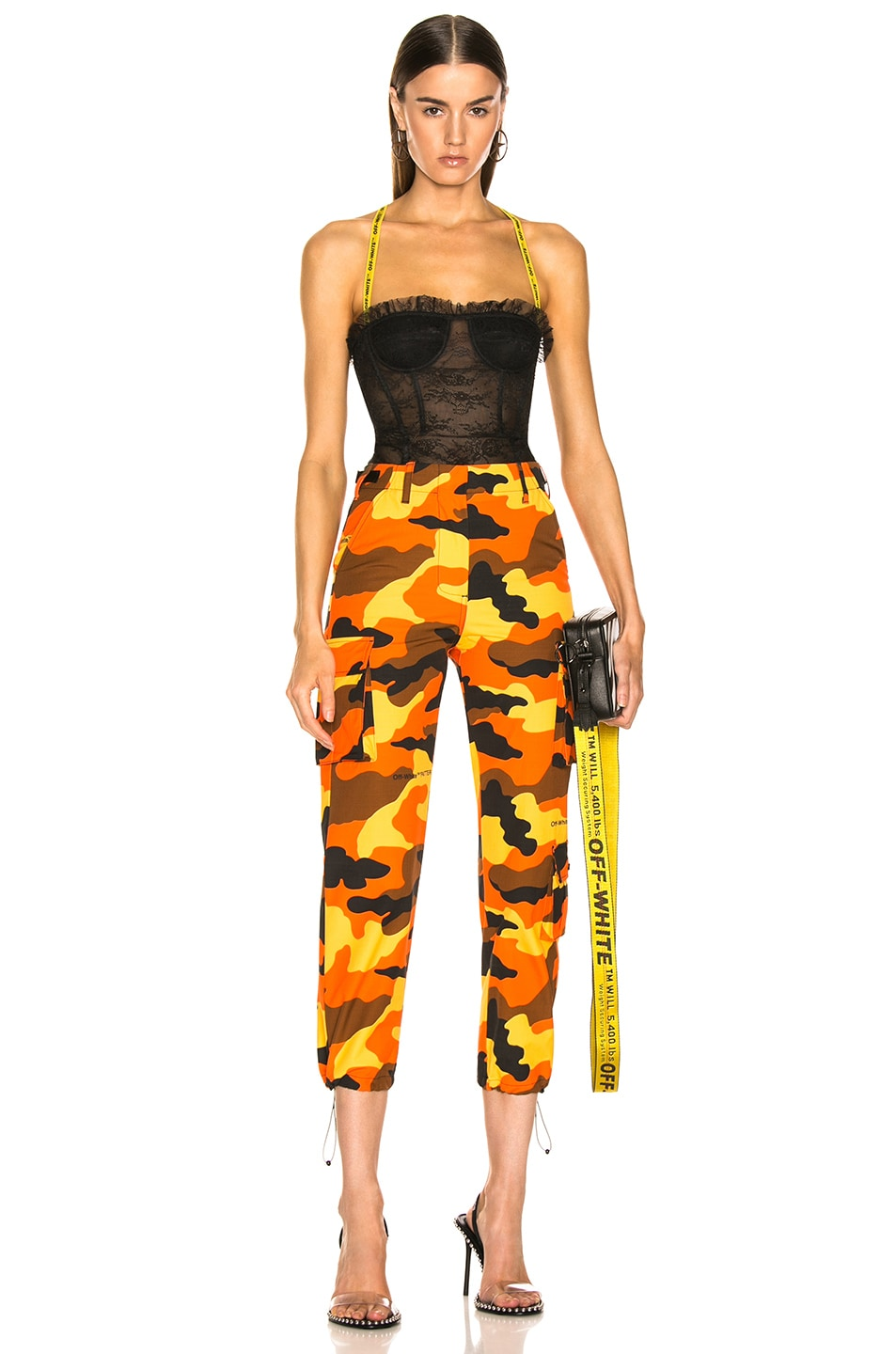 Image 4 of OFF-WHITE Cargo Pant in Camouflage