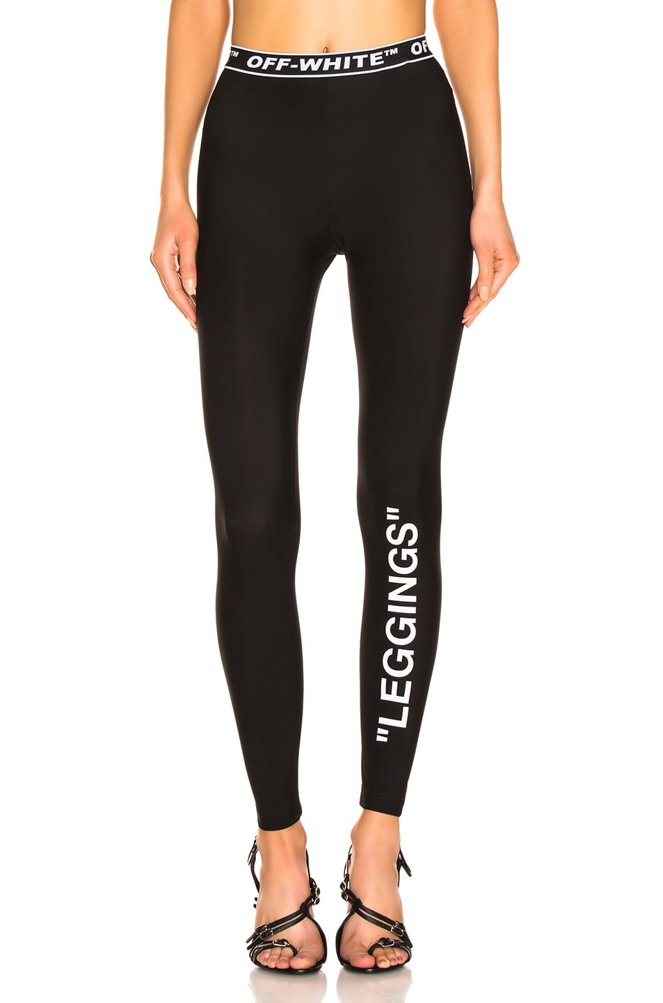 Image 1 of OFF-WHITE Legging in Black