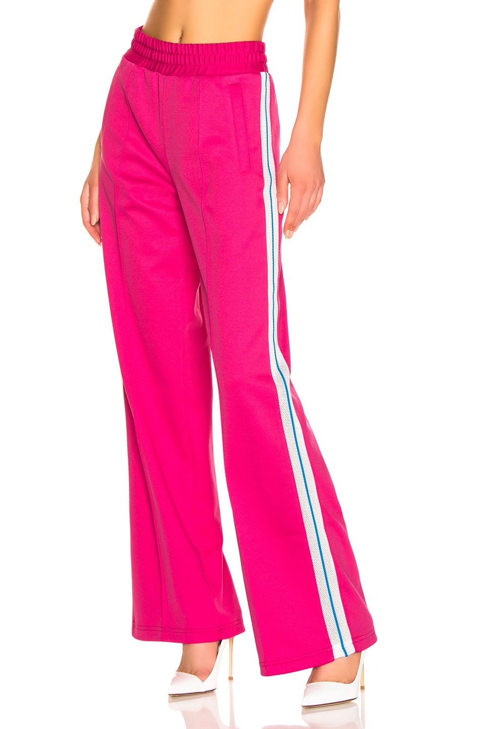 Image 1 of OFF-WHITE Gym Track Pant in Fuchsia