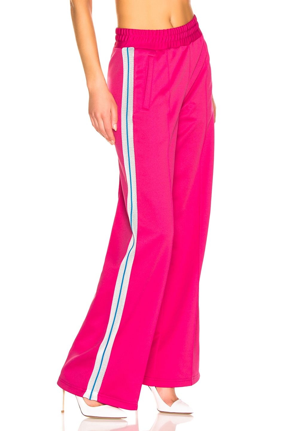 Image 3 of OFF-WHITE Gym Track Pant in Fuchsia