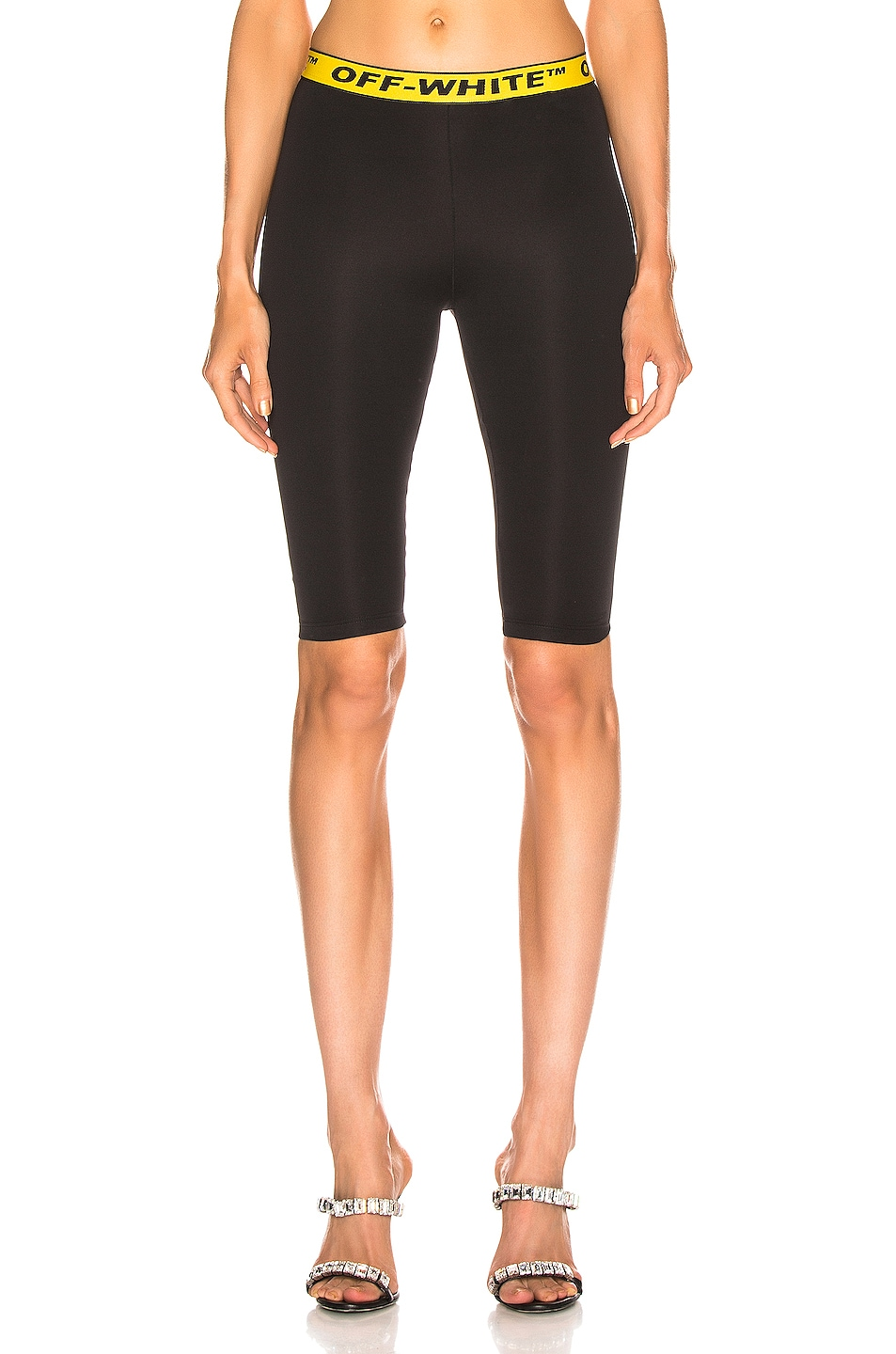Image 1 of OFF-WHITE Industrial Jogging Crop Pant in Black