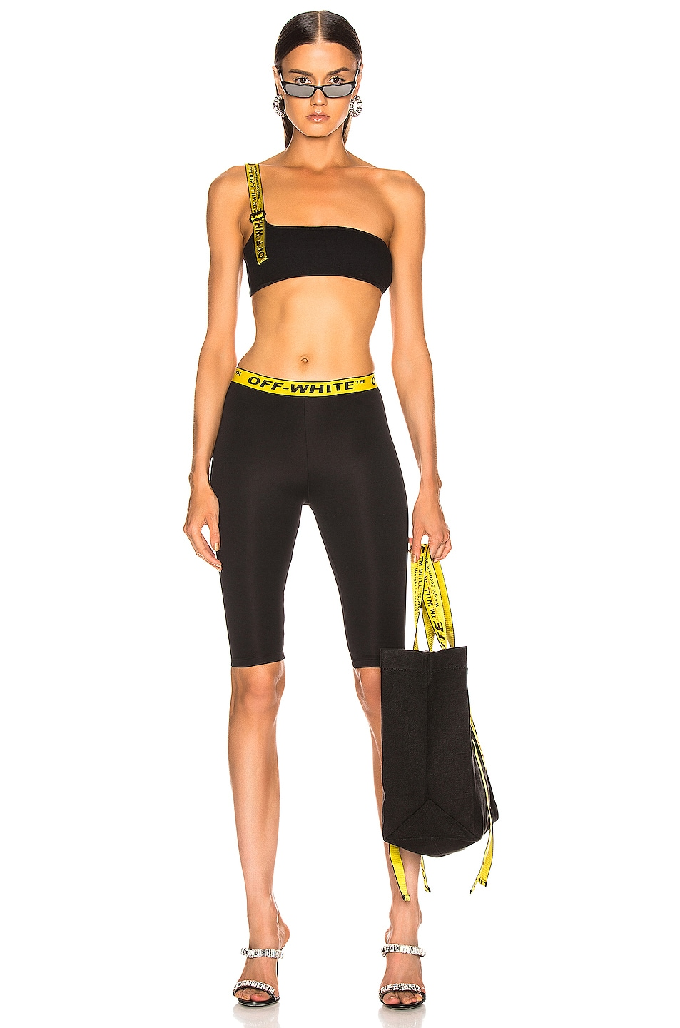Image 4 of OFF-WHITE Industrial Jogging Crop Pant in Black
