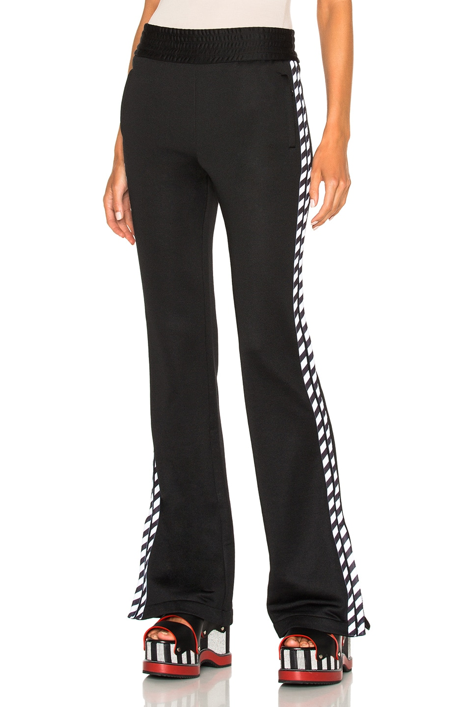 Image 1 of OFF-WHITE Track Pant in Black & White