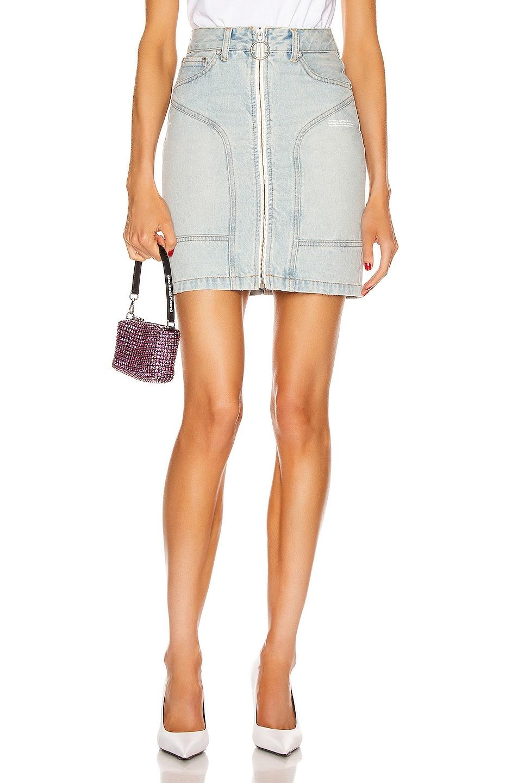 Image 1 of OFF-WHITE Pocket Detail Skirt in Bleach