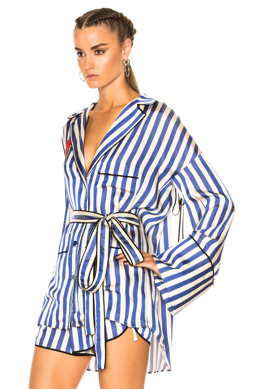 Image 2 of OFF-WHITE Pajama Shirt in Multi