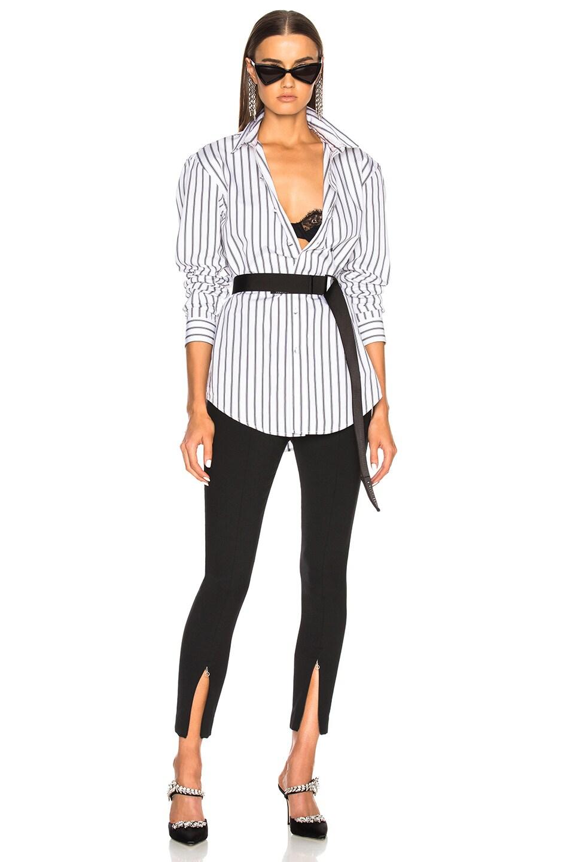 Image 5 of OFF-WHITE Basic Shirt in Black Stripe
