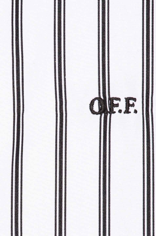 Image 6 of OFF-WHITE Basic Shirt in Black Stripe