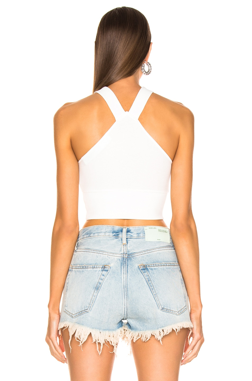 Image 3 of OFF-WHITE Slim Top in White