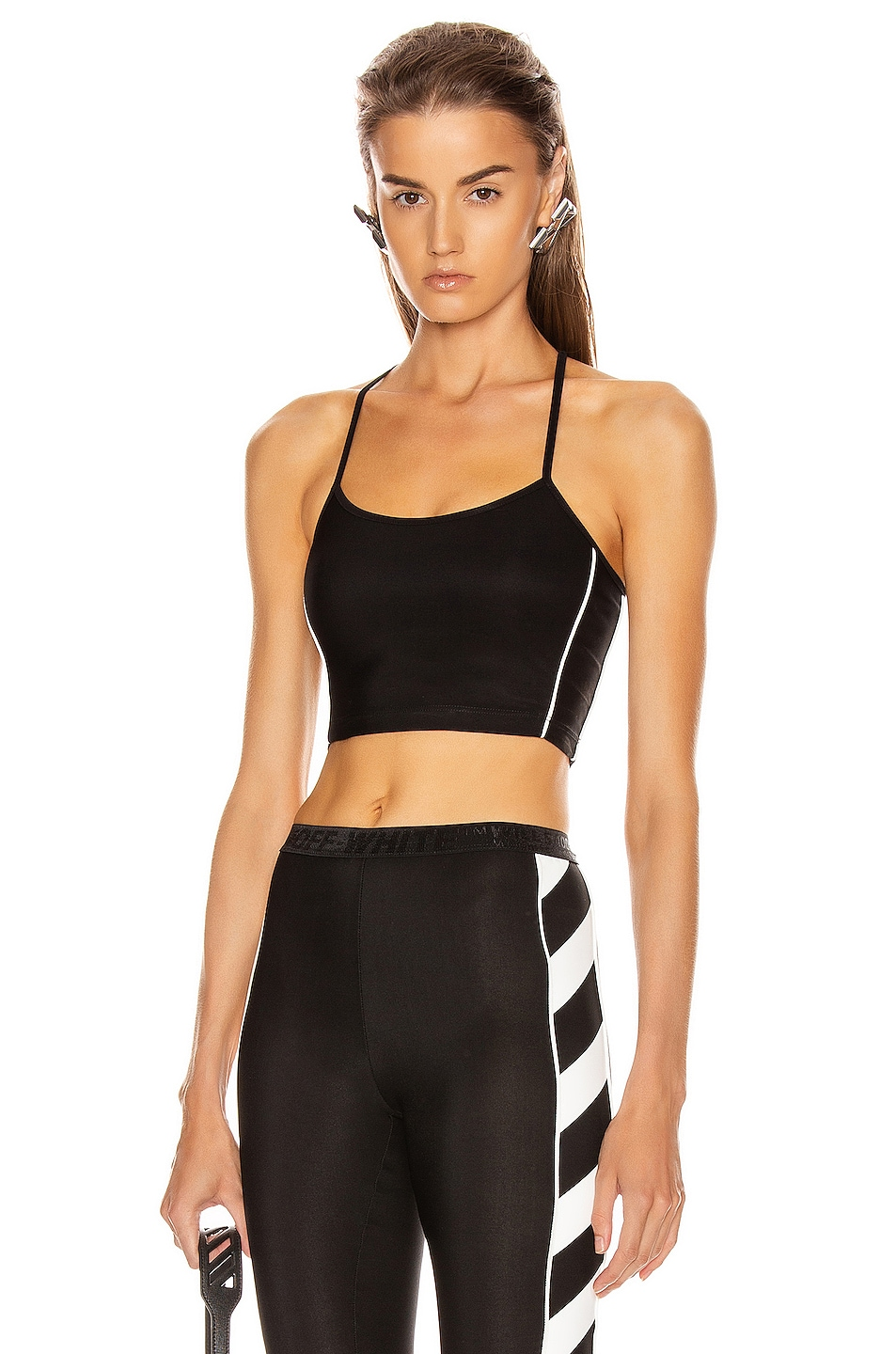 Image 1 of OFF-WHITE Athletic Top in Black