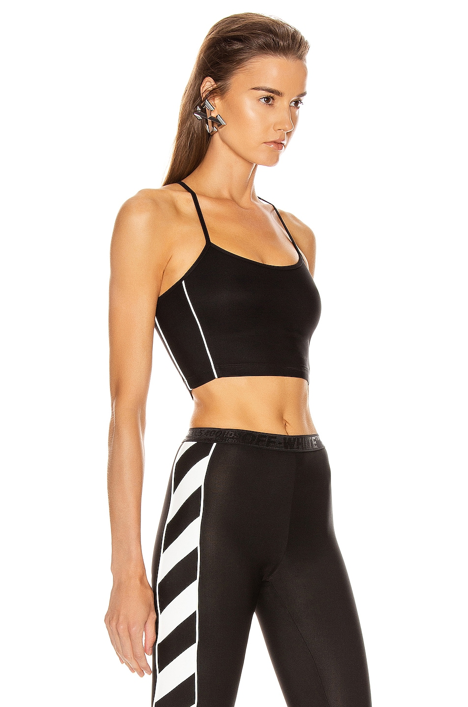Image 3 of OFF-WHITE Athletic Top in Black