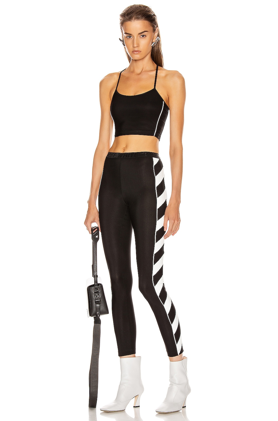 Image 5 of OFF-WHITE Athletic Top in Black