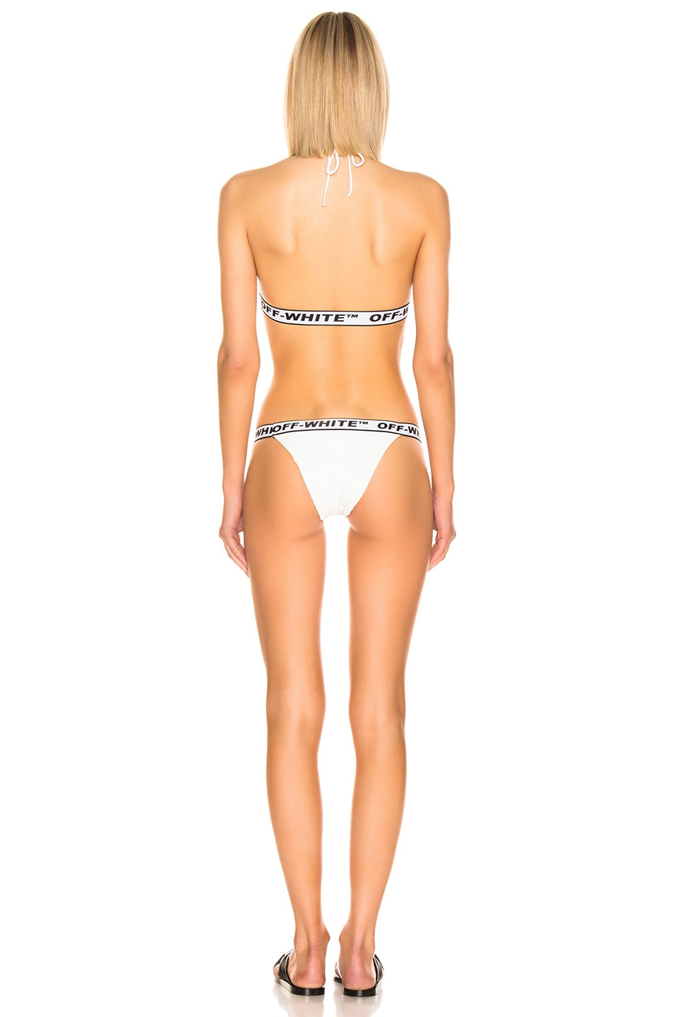 Image 3 of OFF-WHITE Industrial Bikini Set in White