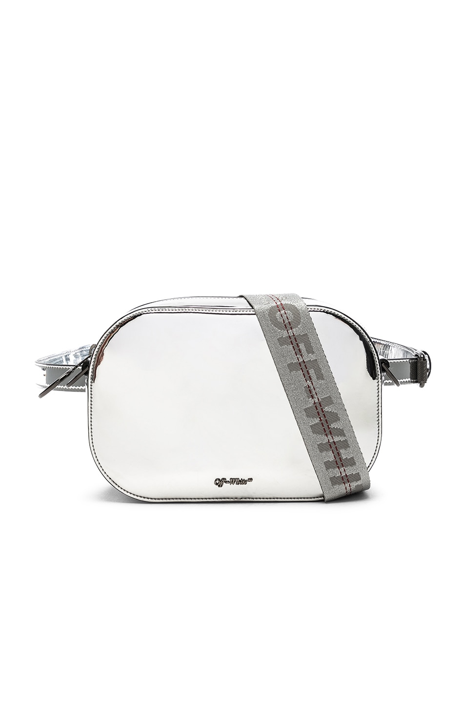 Image 1 of OFF-WHITE Mirror Camera Bag in Silver