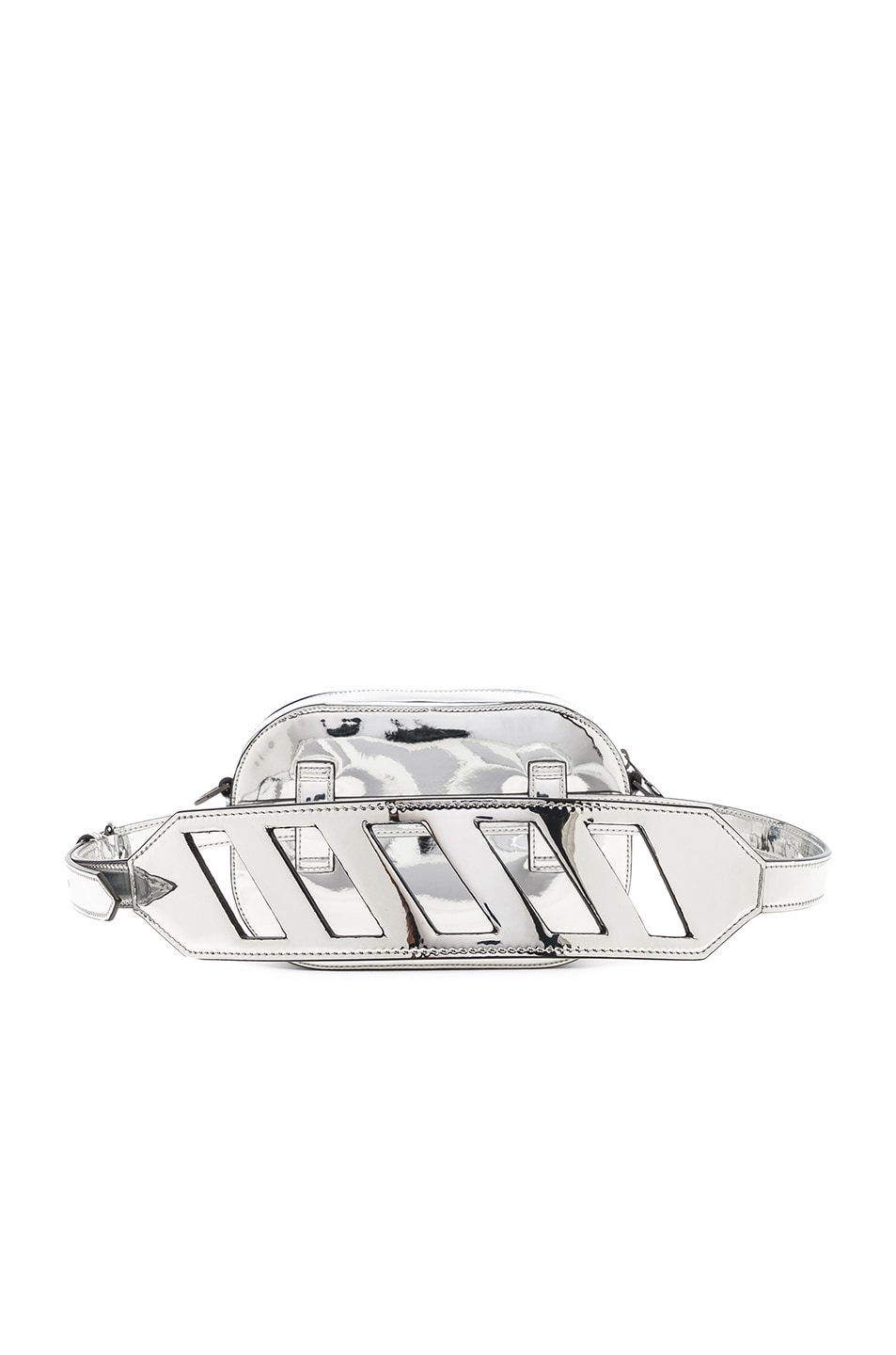 Image 3 of OFF-WHITE Mirror Camera Bag in Silver
