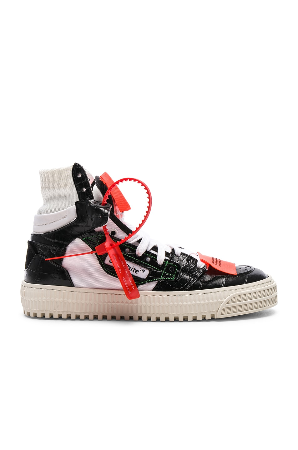 Image 1 of OFF-WHITE Low 3.0 Sneakers in Black