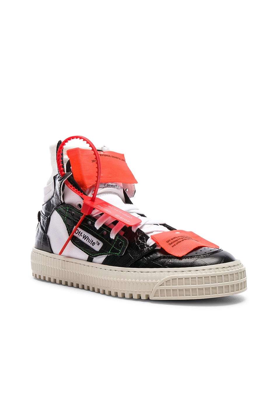 Image 2 of OFF-WHITE Low 3.0 Sneakers in Black