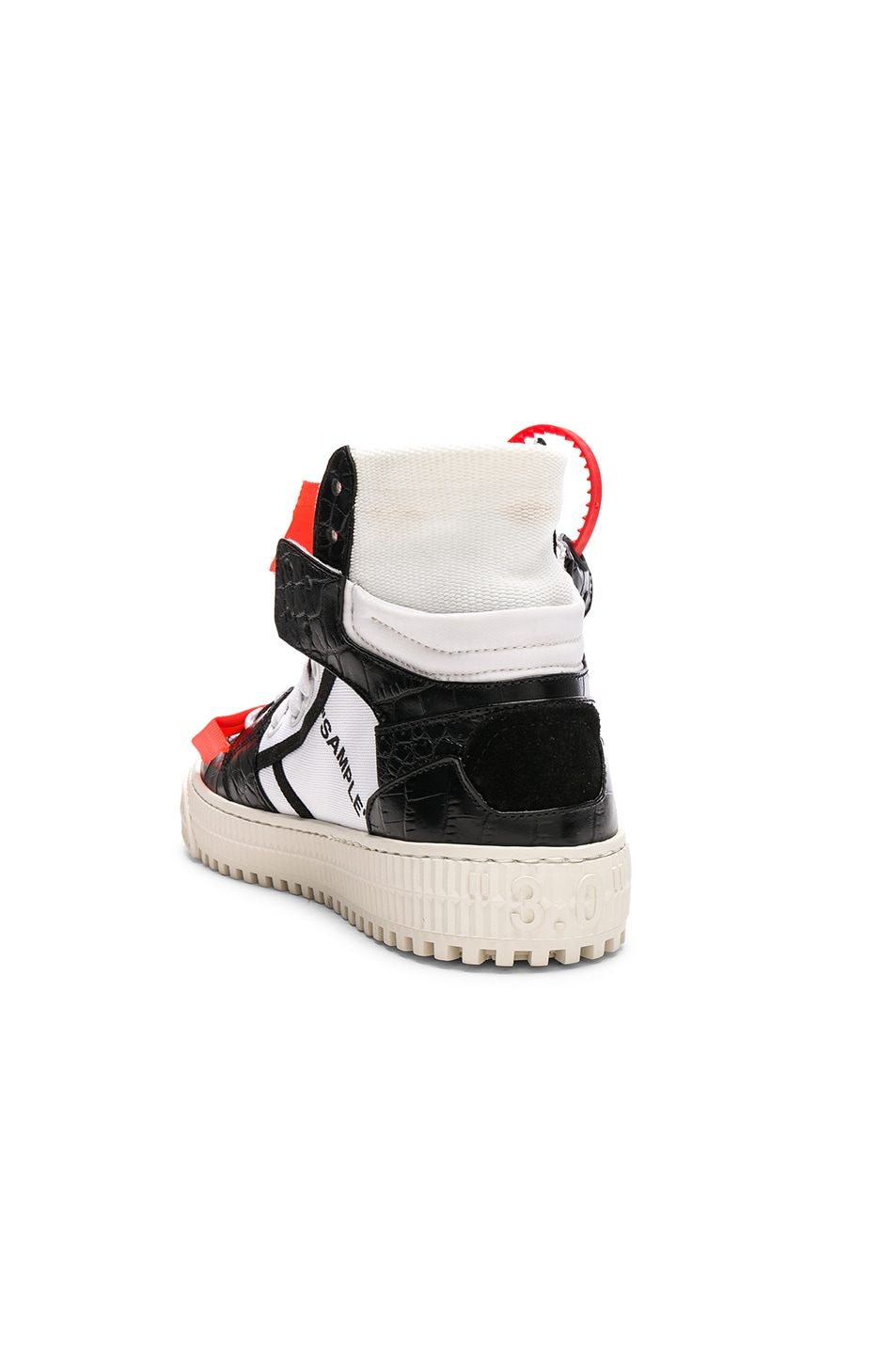 Image 3 of OFF-WHITE Low 3.0 Sneakers in Black