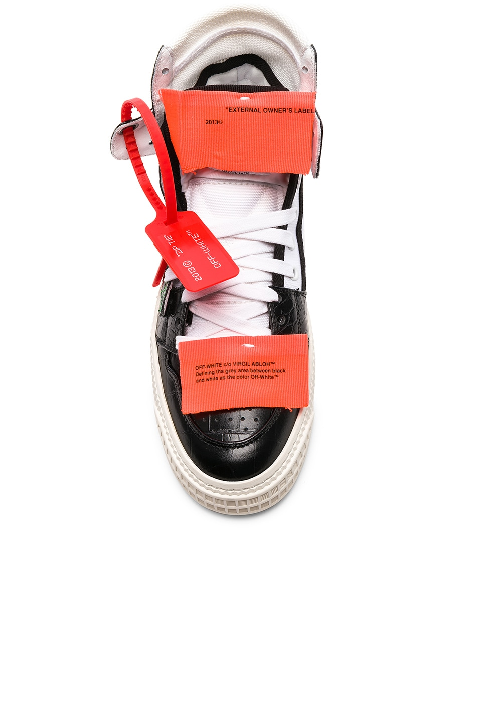 Image 4 of OFF-WHITE Low 3.0 Sneakers in Black