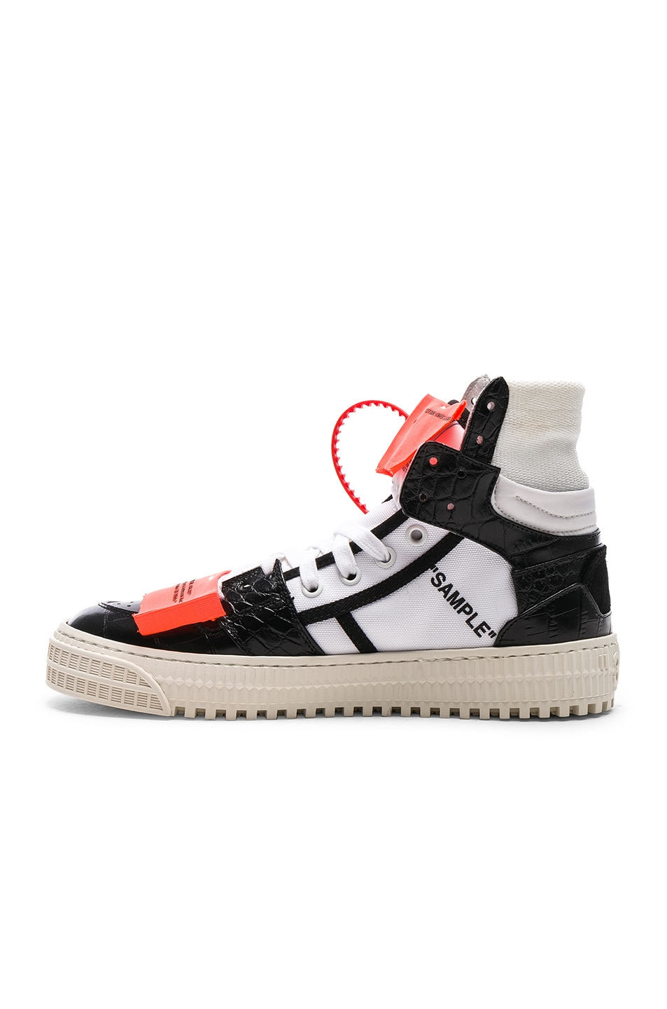Image 5 of OFF-WHITE Low 3.0 Sneakers in Black