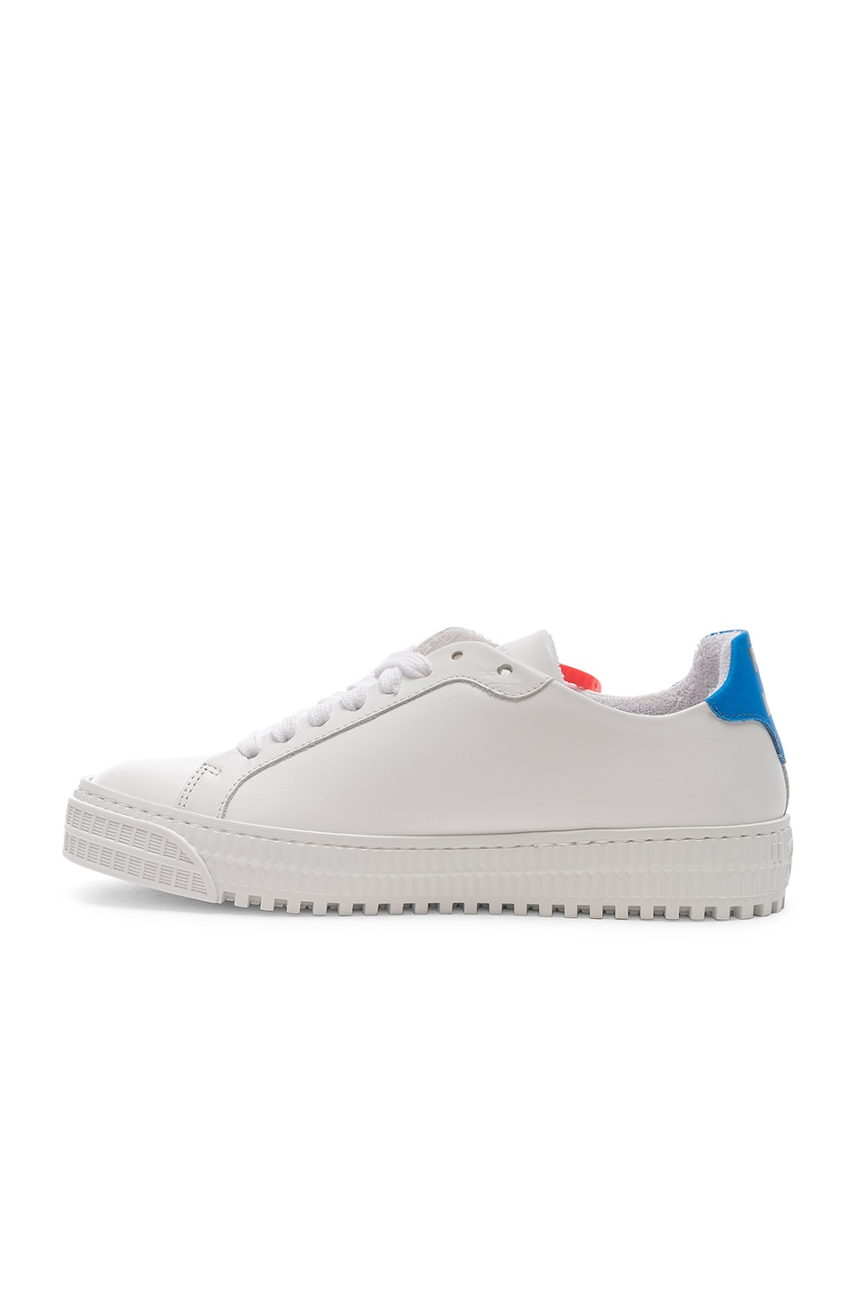 Image 5 of OFF-WHITE Arrow Sneaker in White & Blue