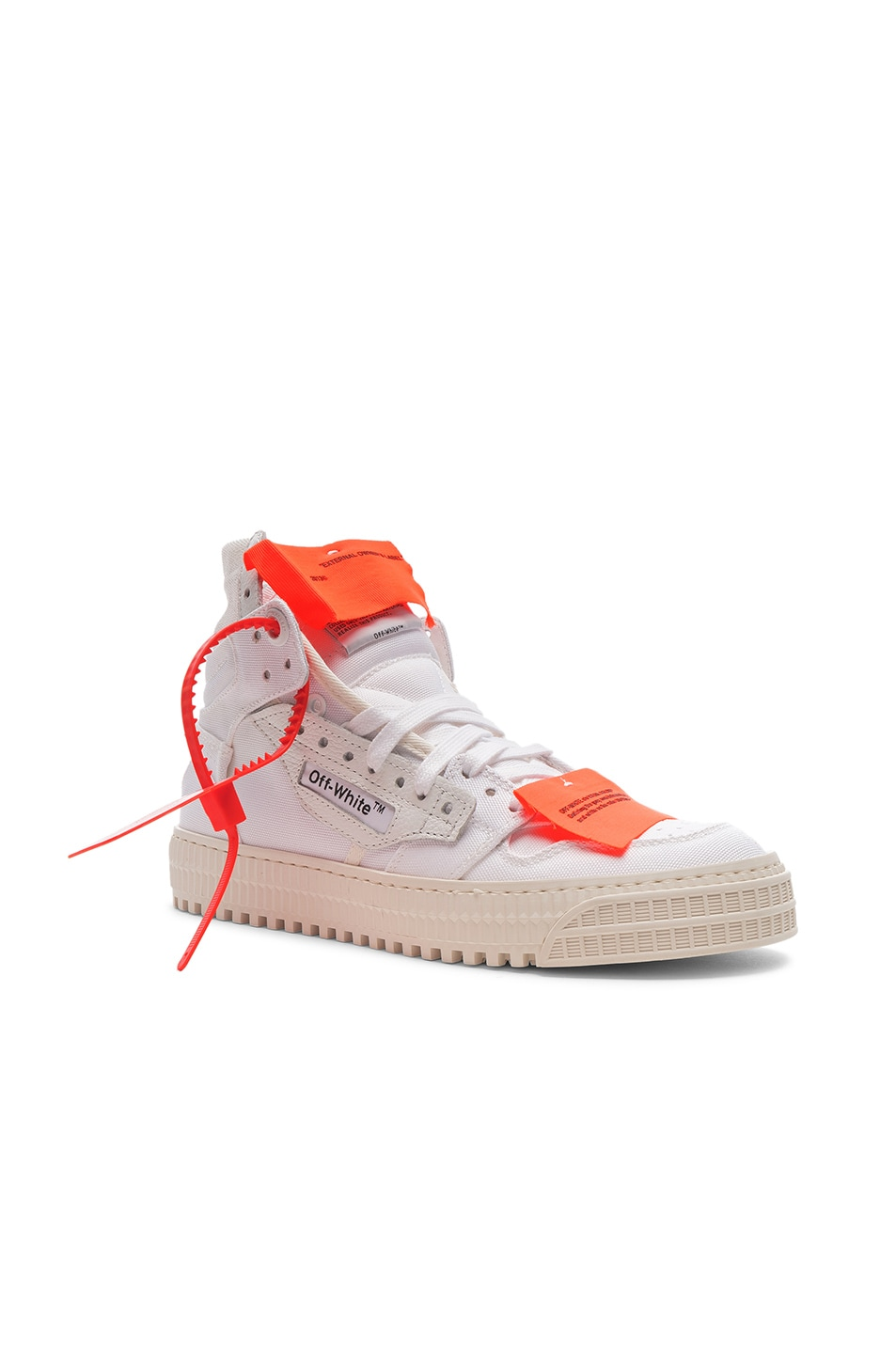 Image 2 of OFF-WHITE Off Court Sneaker in White & White