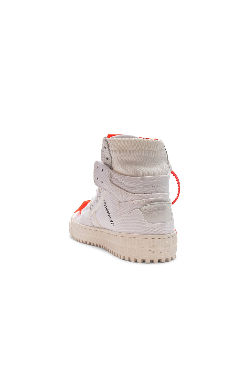 Image 3 of OFF-WHITE Off Court Sneaker in White & White