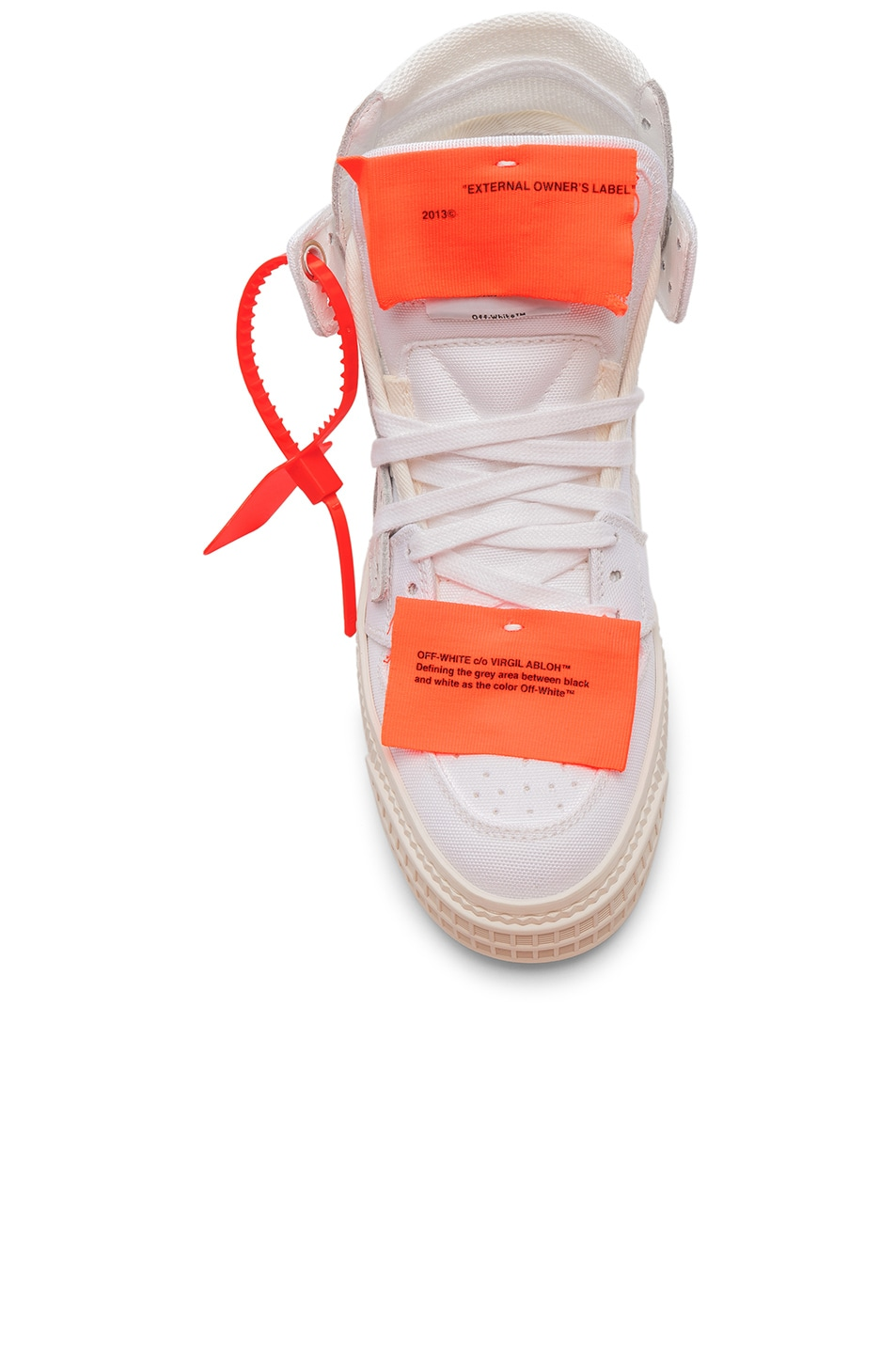 Image 4 of OFF-WHITE Off Court Sneaker in White & White
