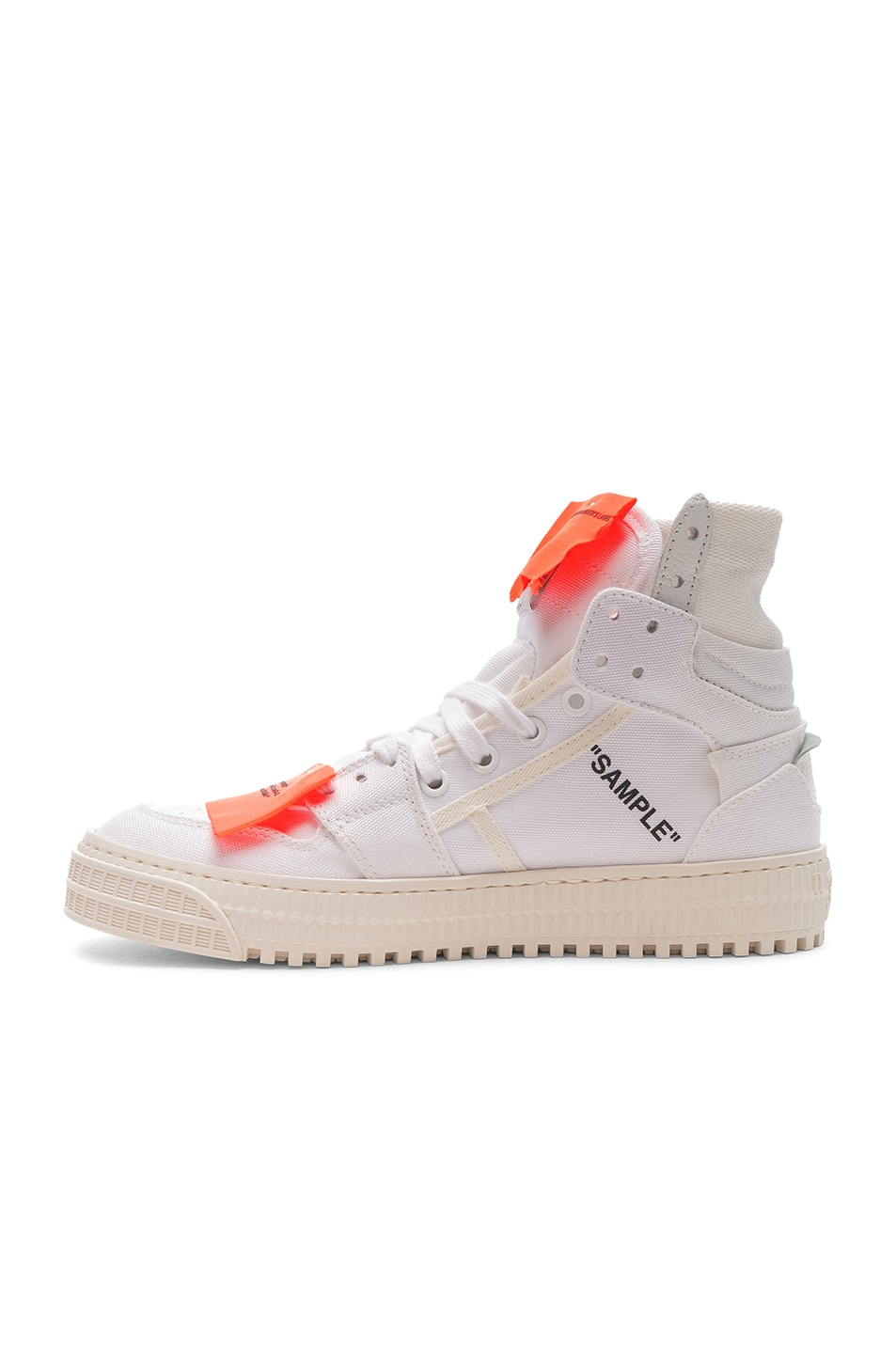 Image 5 of OFF-WHITE Off Court Sneaker in White & White
