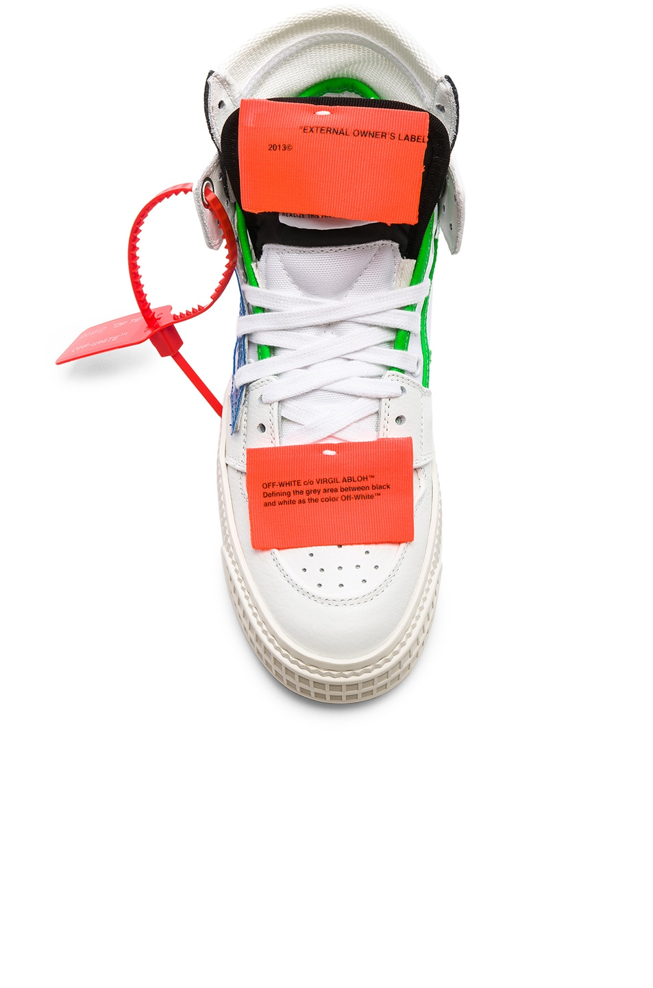Image 4 of OFF-WHITE Off Court Sneaker in White & Blue