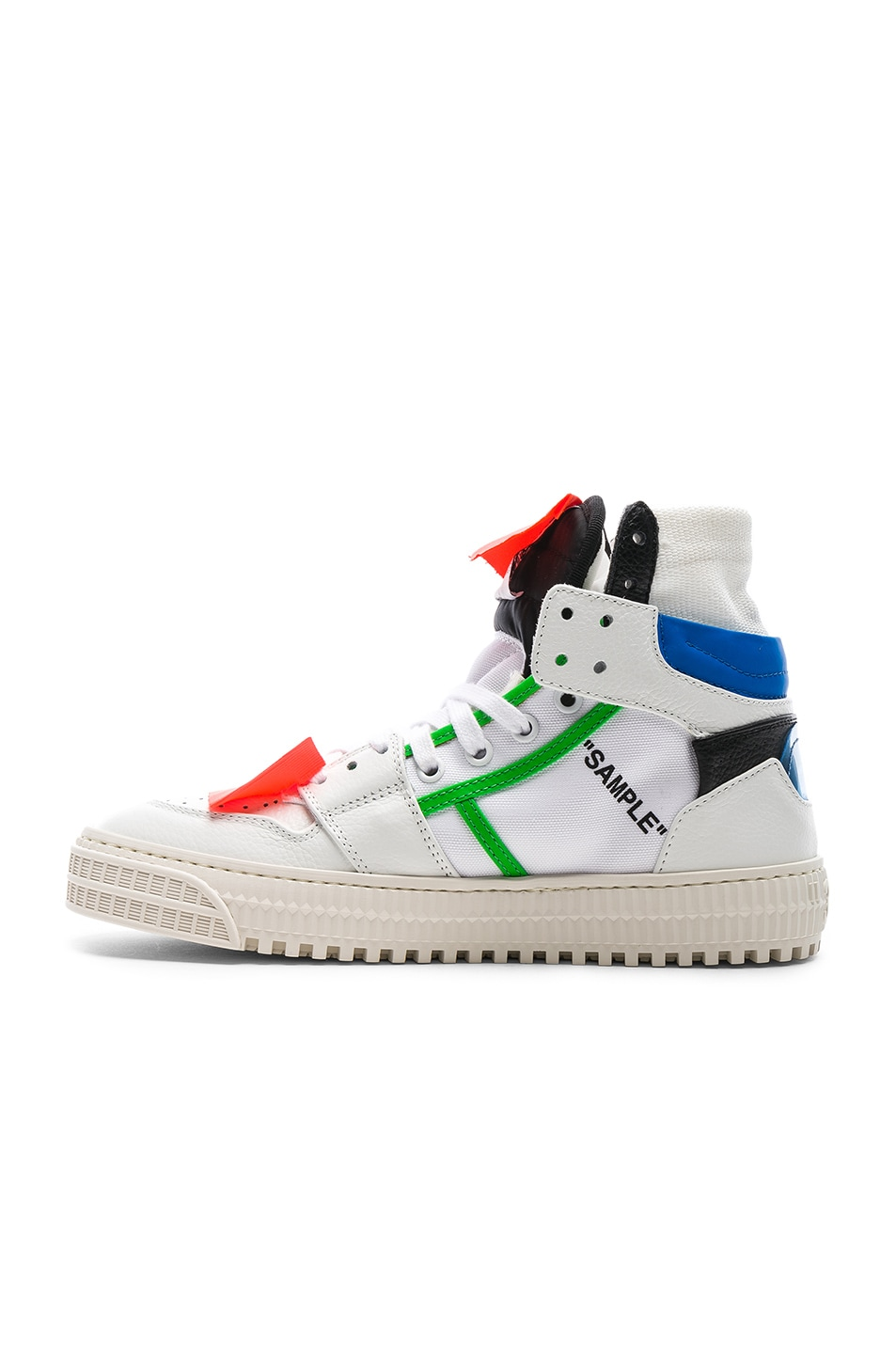 Image 5 of OFF-WHITE Off Court Sneaker in White & Blue