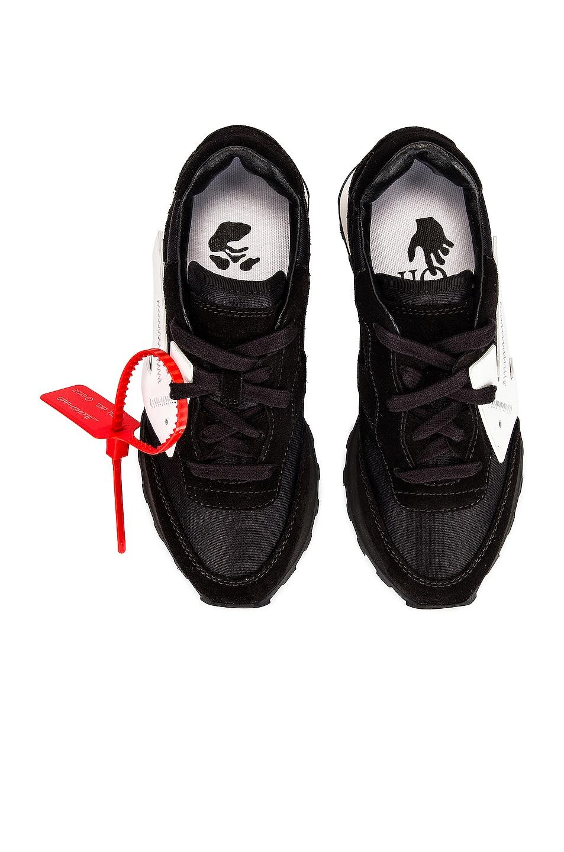 Image 1 of OFF-WHITE Hg Runner Sneaker in Black