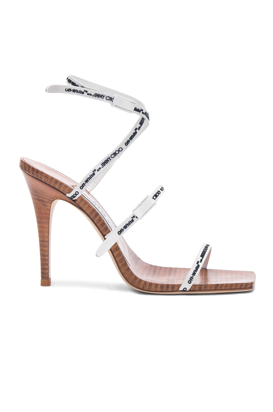 discount excellent Jimmy Choo X Off-White Jane 100 sandals newest cheap online V0Do3