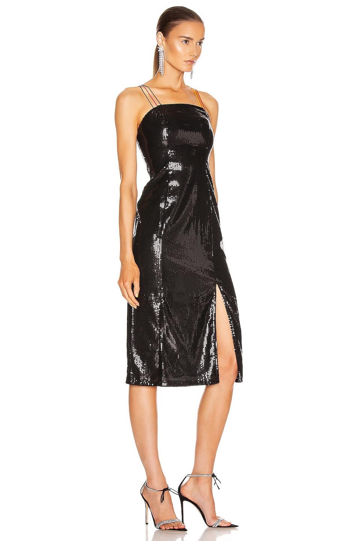Image 2 of Olivia Rubin Greta Dress in Black