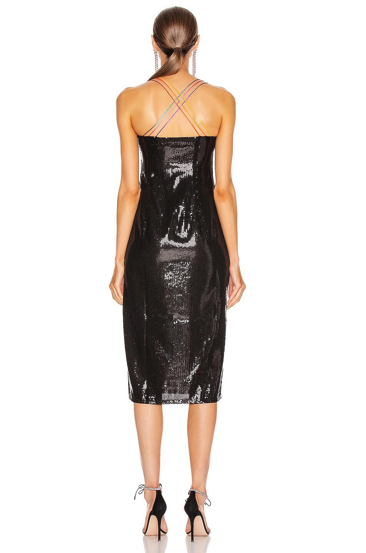 Image 3 of Olivia Rubin Greta Dress in Black