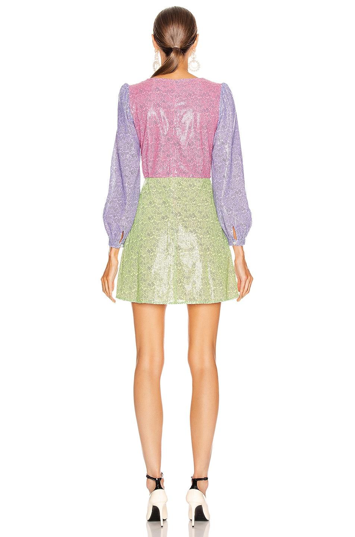Image 3 of Olivia Rubin Meg Dress in Dash Print Mix